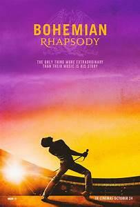 Affiche Du Film Bohemian Rhapsody - Affiche 6 Sur 6