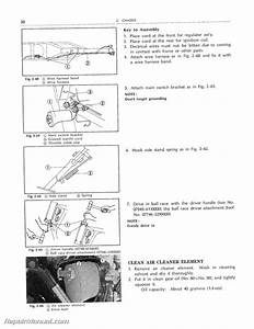 Honda Xl250 Xl350 Service Manual 1972  U2013 1978
