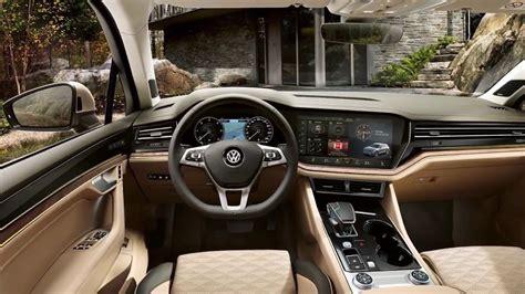 touareg vw suv  redesign interior exterior