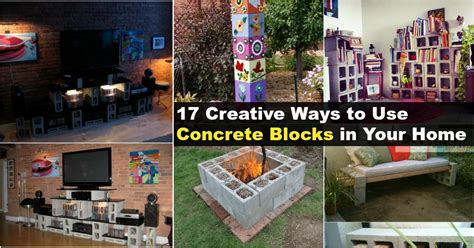17 Creative Ways To Use Concrete Blocks In Your Home  Diy & Crafts