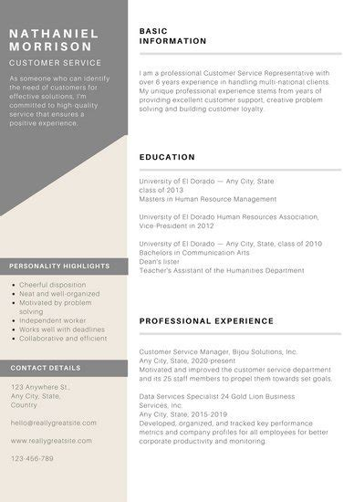 Cool Ballot Templates by Customize 734 Modern Resume Templates Online Canva