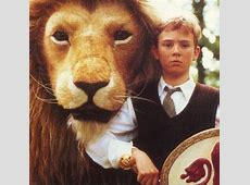 Aslan and Peter from CS Lewis stories of Narnia The