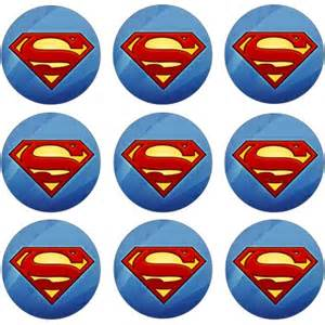 dr who cake topper superman cupcake icing image this party started