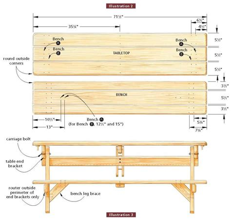 free folding picnic table bench plans pdf wooden picnic bench plans pdf woodworking