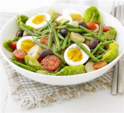 summer salad  anchovy dressing recipe bbc good food