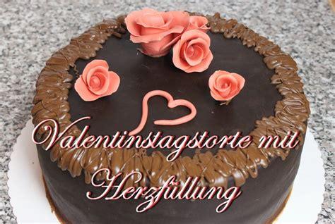 len selber machen zubehör valentinstags torte mit herzf 252 llung torten selber mac