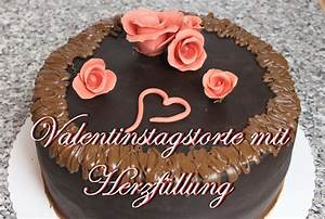 Betonoptik Boden Selber Machen : valentinstags torte mit herzf llung torten selber machen ~ Michelbontemps.com Haus und Dekorationen