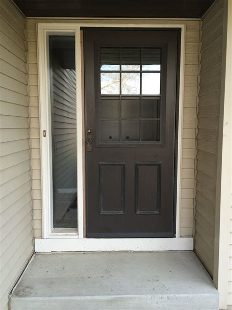 door for screen door new front screen door verlo house to home