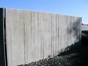 Mur En Béton : murs d 39 enceinte industriel maison bleue pr fabrication b ton ~ Melissatoandfro.com Idées de Décoration