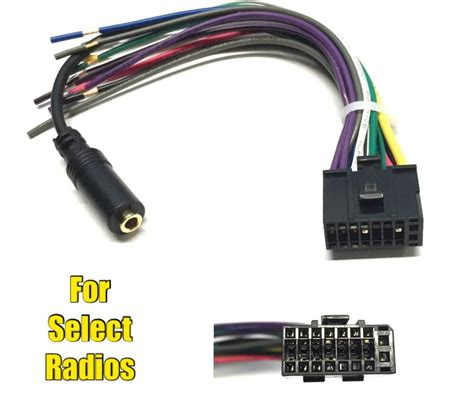 car stereo radio replacement wire harness for some