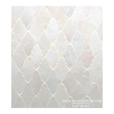 Tile On Tile by White Moorish Kitchen Floor Tile