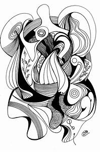 Pen and Ink Abstract Drawing | Doodle Art | Pinterest