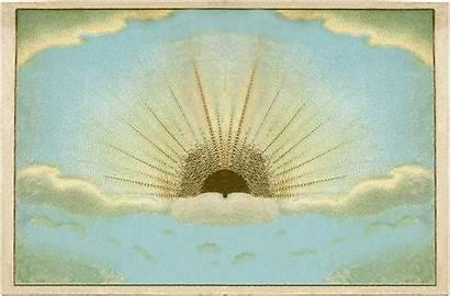 Clip Sunrise Clipart Graphics Fairy Christian Backgrounds