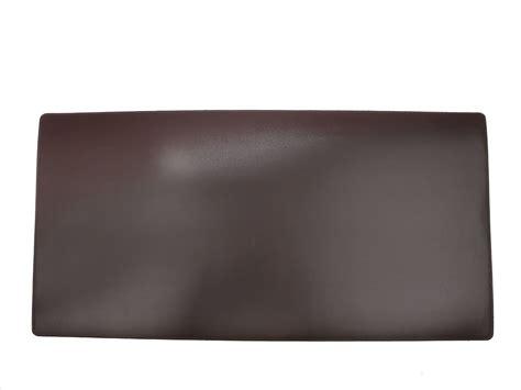 sous bureau grand sous de bureau en cuir noir 80 cm par 40 cm