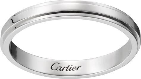 crb4093900 cartier d amour wedding band platinum cartier