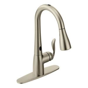 Moen Motionsense Faucet Home Depot by Moen Arbor Single Handle Pull Sprayer Touchless