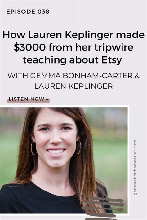 Ep38: How Lauren Keplinger made $3000 from her tripwire ...