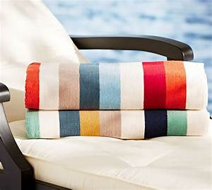casual stripe beach towel pottery barn With best pottery barn towels