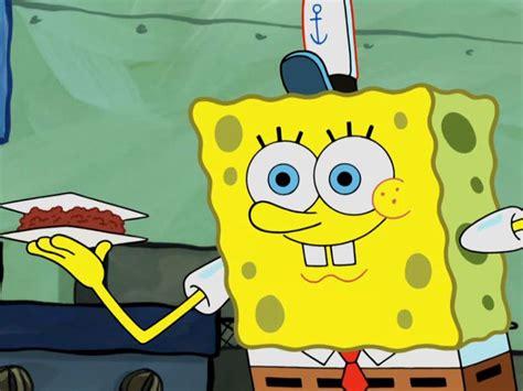 spongebob cuisine kartun spongebob cooking
