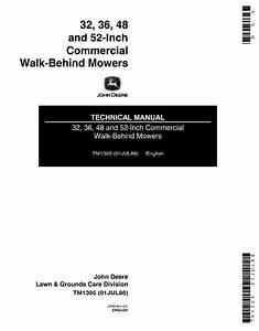 John Deere Commercial Walk