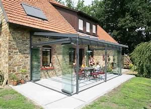 Berdachung terrasse alu mit sonnenschutz glasdach und for Alu überdachung terrasse