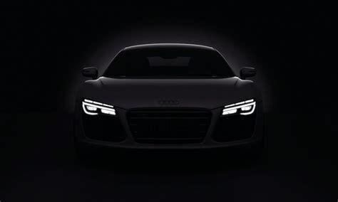 voitures sombres audi phares   papier peint