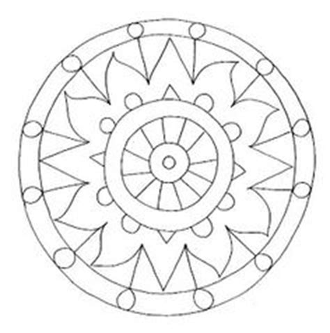 simple  attractive  printable peace sign coloring