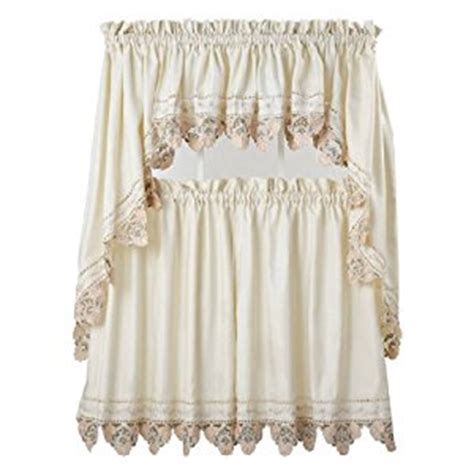 mandy kitchen curtains 36 in tiers amazon co uk