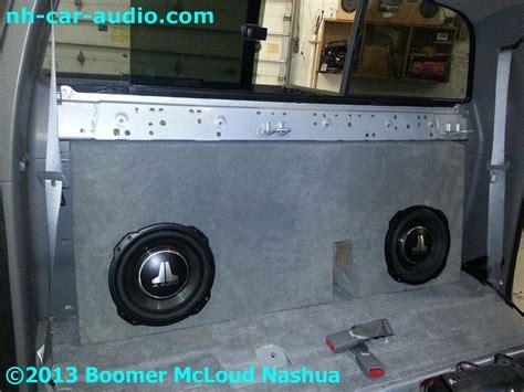 toyota tacoma suwoofer add  boomer nashua mobile