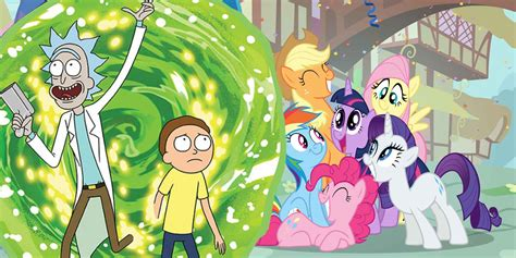 Rick And Morty Cameo In My Little Pony  Screen Rant