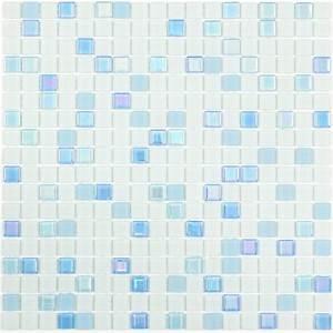 Mosaique Pour Salle De Bain : mosa que p te de verre sweety bleue indoor by capri ~ Premium-room.com Idées de Décoration