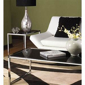 avenue six yield black glass top coffee table review With black coffee table sets sale