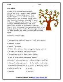 Comprehension Worksheets For Grade 6 Free Reading Comprehension Stories And Questions Worksheets Scalien