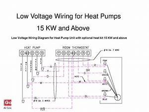 Heat Pump Low Voltage Wiring Diagram