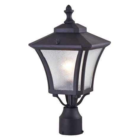 dvi lighting dvp143014bk si swansea outdoor post light