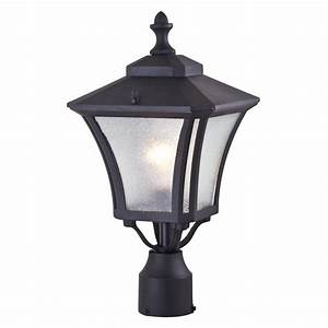 Dvi swansea outdoor post light lowe39s canada for Lamp post light lowes