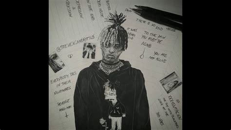Black and white icons inspired by studio ghibli films. Juice Wrld Drawing Black And White