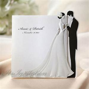 white 3d bride and groom wedding invitations cards env With cheap 3d wedding invitations