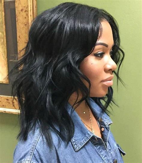 45 beautiful black women hair styles shaggy bob