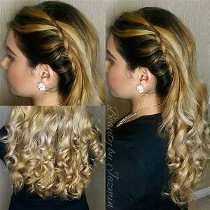 Hairstyles For Prom With Side Braids And Curls | www ...