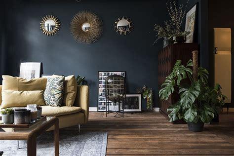 rooms  dark  moody color schemes