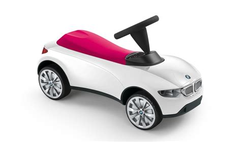 Bmw Genuine Baby Racer Iii Kids Ride On Push Toy Car White