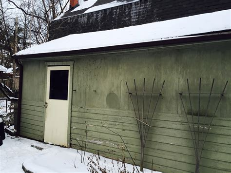 garage makeover from run down to revitalized
