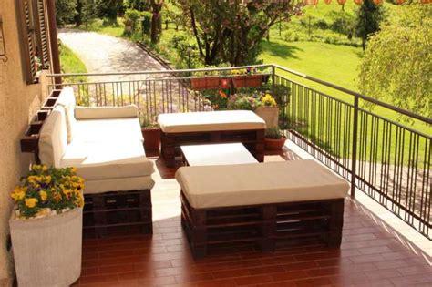 idee per arredare il terrazzo come arredare il terrazzo con i bancali foto 22 40