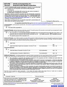 free california articles of incorporation of a nonprofit With c corporation formation documents