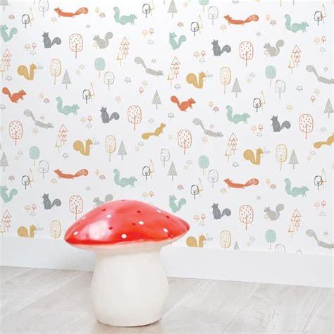 deco ourson chambre bebe papier peint chambre bébé nature