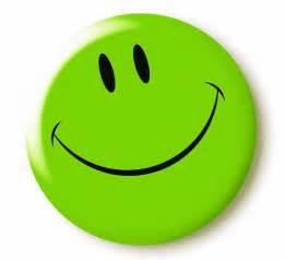 Green Smiley-Face