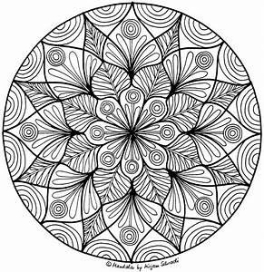 Erwachsenen Mandala Nr6 MANDALA MALSPIEL