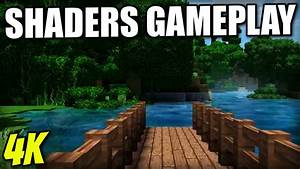 Minecraft Console SHADERS GAMEPLAY 4K SUPER DOOPER