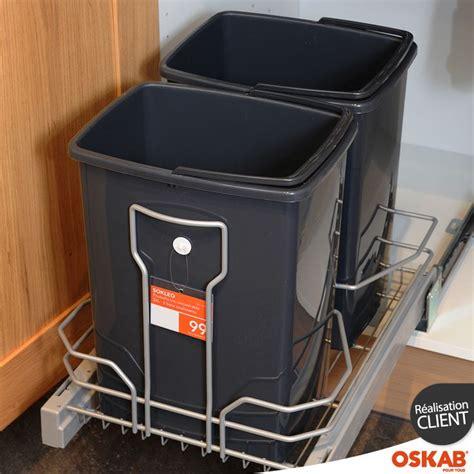 poubelle cuisine encastrable sous evier les 25 meilleures idées concernant poubelle coulissante